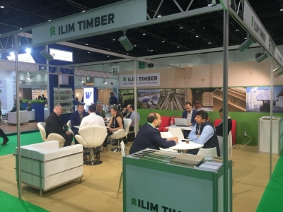"Ilim Timber Company took part in the ""Dubai International Wood and Wood Machinery Show 2019"""